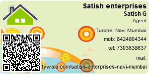 Visiting Card of Satish enterprises