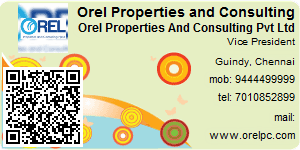 Visiting Card of Orel Properties and Consulting (P) Ltd