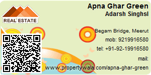 Visiting Card of Apna Ghar Green Pvt Ltd