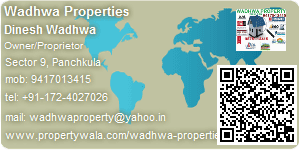 Visiting Card of Wadhwa Properties