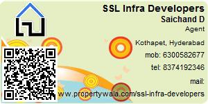 Contact Details of SSL Infra Developers