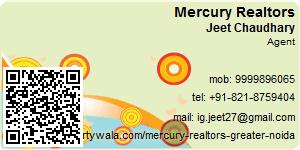 Visiting Card of Mercury Realtors