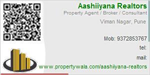 Visiting Card of Aashiiyana Realtors
