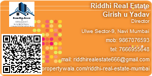Visiting Card of Riddhi Real Estate