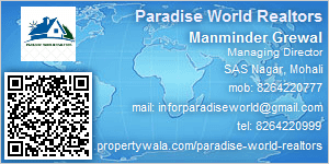 Visiting Card of Paradise World Realtors