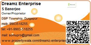 Visiting Card of Dreamz Enterprise