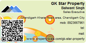 Visiting Card of GK Star Property