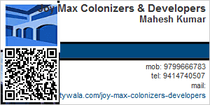 Contact Details of Joy Max Colonizers & Developers