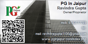 Visiting Card of PG In Jaipur