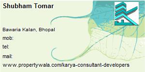 Visiting Card of Karya Consultant & Developers