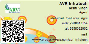 Visiting Card of AVR Infratech