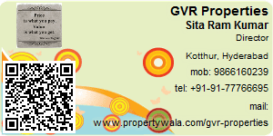 Visiting Card of GVR Properties