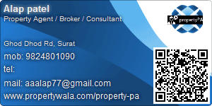 Visiting Card of RahulRaj Estates