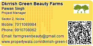 Visiting Card of Dkrrish Green Beauty Farms
