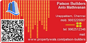 Visiting Card of Patson Builders