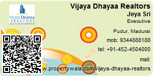 Visiting Card of Vijaya Dhayaa Realtors