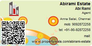 Visiting Card of Abirami Estate