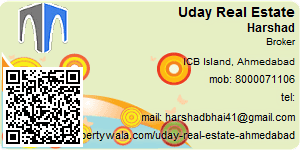 Visiting Card of Uday Real Estate