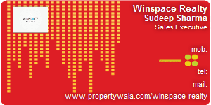 Visiting Card of Winspace Realty