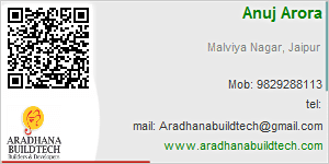 Visiting Card of Aradhana Buildtech