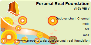 Contact Details of Perumal Real Foundation