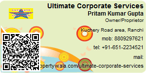 Visiting Card of Ultimate Corporate Services