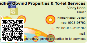 Visiting Card of Radhey Govind Properties & To-let Services