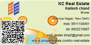 Visiting Card of KC Real Estate Pvt Ltd