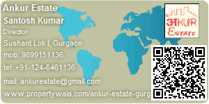 Visiting Card of Ankur Estate