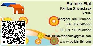 Visiting Card of Builder Flat