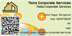 Visiting Card of Tisha Corporate Services