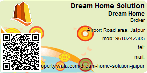 Visiting Card of Dream Home Solution
