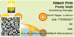 Visiting Card of Hitech Firm