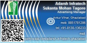 Contact Details of Adarsh Infratech Pvt Ltd