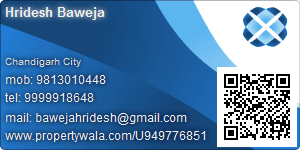 Hridesh Baweja - Visiting Card