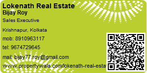 Visiting Card of Lokenath Real Estate