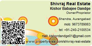 Visiting Card of Shivraj Real Estate