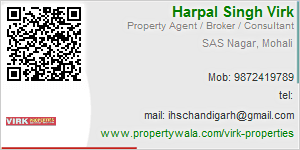 Visiting Card of Virk Properties