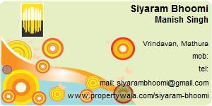 Visiting Card of Siyaram Bhoomi Pvt Ltd