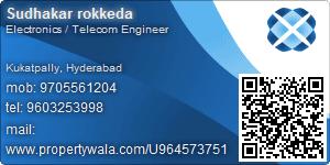 Sudhakar rokkeda - Visiting Card