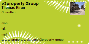 Visiting Card of v3property Group