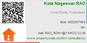 Visiting Card of KNR Consultancy