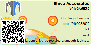 Visiting Card of Shiva Associates