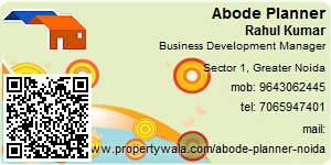 Visiting Card of Abode Planner