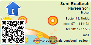 Visiting Card of Soni Realtech Pvt. Ltd.