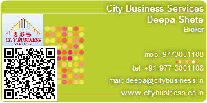 Visiting Card of City Business Services