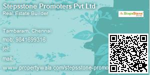Visiting Card of Stepsstone Promoters Pvt Ltd