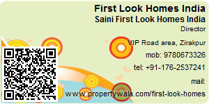 Visiting Card of First Look Homes India
