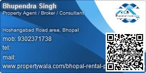 Bhupendra Singh - Visiting Card
