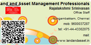 Visiting Card of Land and Asset Management Professionals
